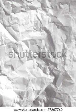 VECTOR - Crumpled paper texture