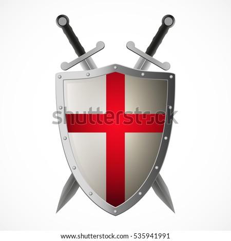 vector crusaders shield and...