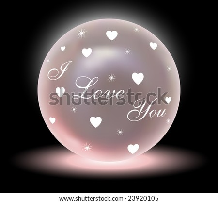 Vector Crystal Love Ball