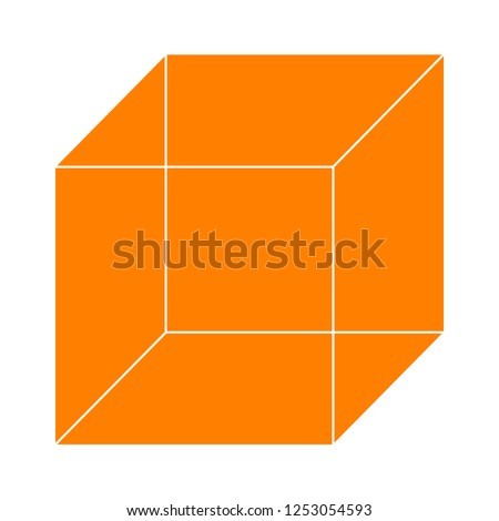 vector cube illustration