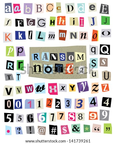 Royalty free newspaper alphabet with numbers and 63308644 stock vector cut newspaper and magazine letters numbers symbols mixed uc spiritdancerdesigns Choice Image