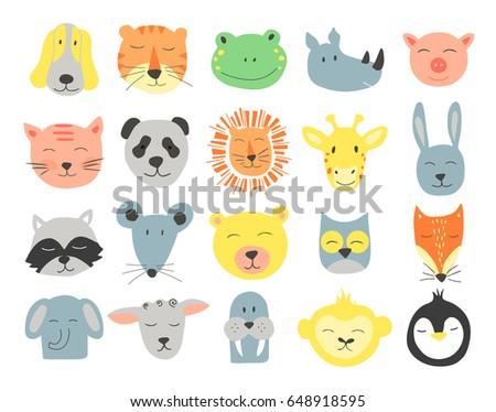 vector  cute illustration of