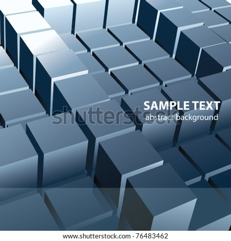 Vector 3d abstract Background