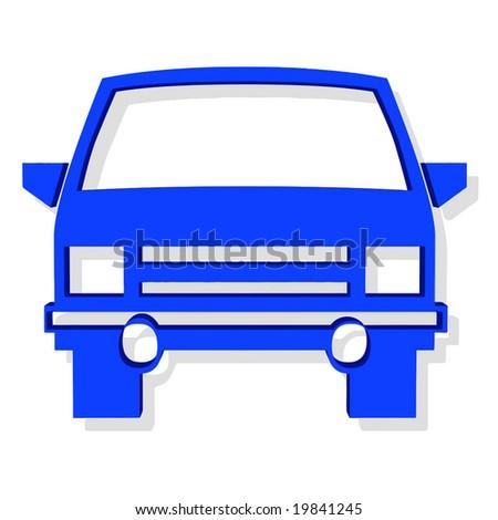 Vector 3D Car