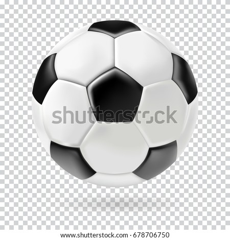 vector 3d football isolated