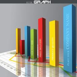 Vector 3D graph