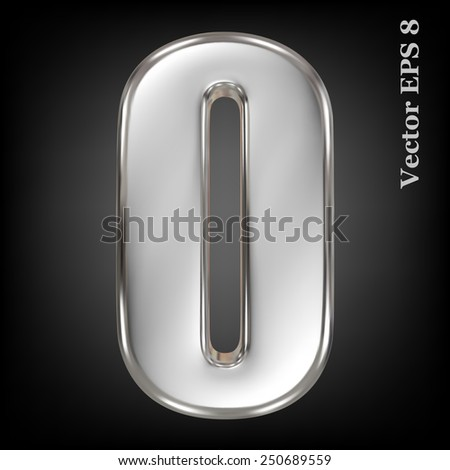 vector 3d metal number