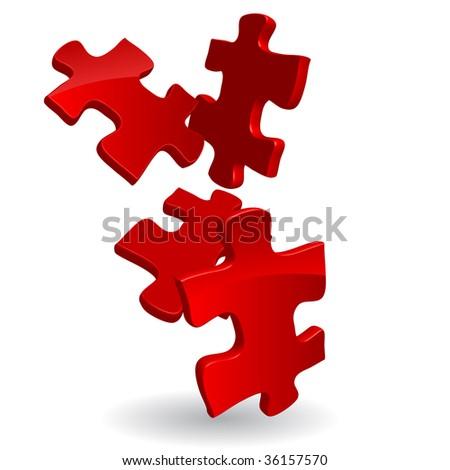 vector 3d puzzles
