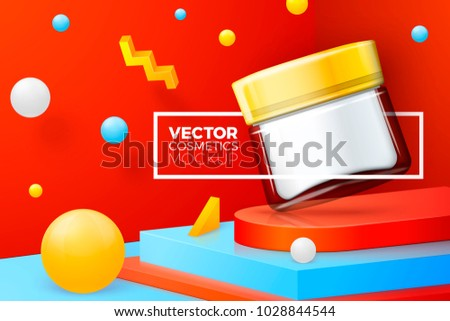vector 3d realistic abstract