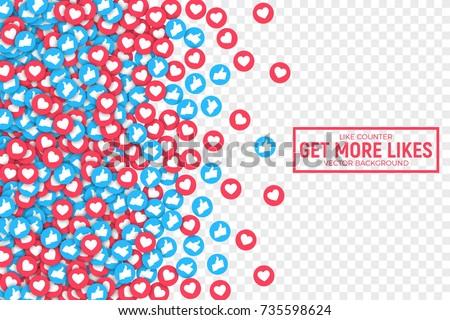 vector 3d social network like