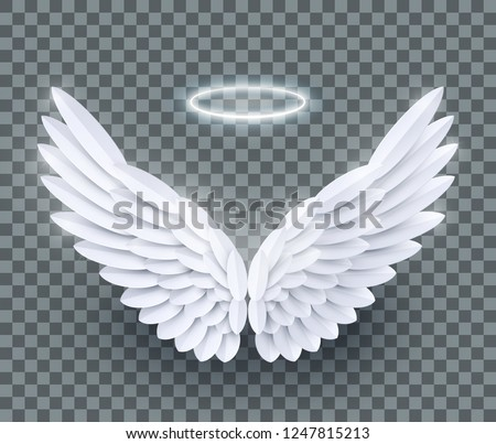 vector 3d white realistic