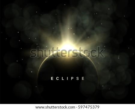 vector dark abstract background
