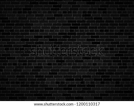 vector dark brick wall