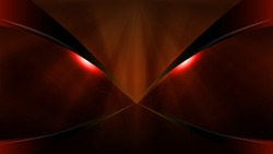 Vector dark red demon mask dragon eyes, abstract background
