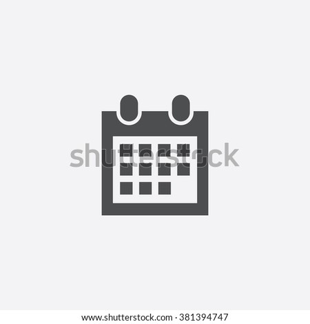 Vector date Icon
