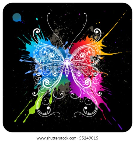 vector decorative butterfly