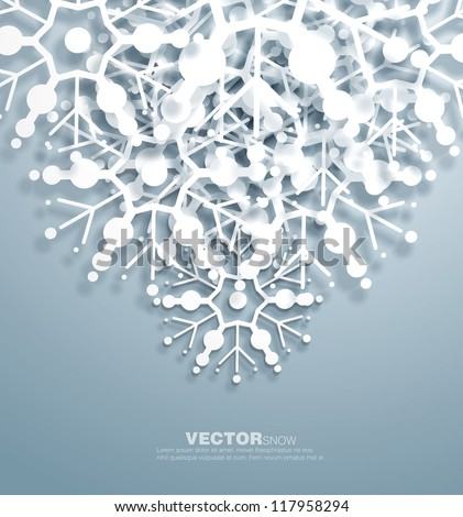 vector   decorative  design of