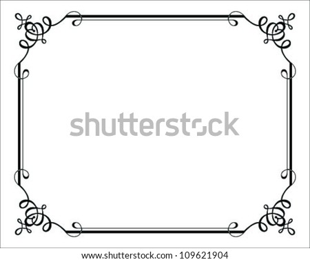 7ae6251b19a Decorative Frame Set - Download Free Vector Art