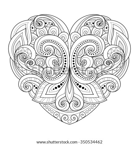 vector decorative monochrome