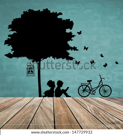 vector decorative wall stickers