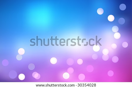 Vector Defocus Rainbow Light Background