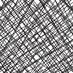 vector design background pattern, hand drawn diagonal hatchwork lines that criss cross in cool artsy textured black on white background design