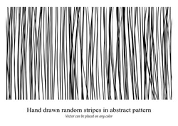 vector design background pattern, hand drawn vertical stripes, messy textured lines, can be changed to any color, and placed on any color