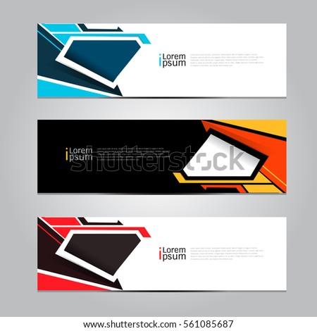 Vector design Banner background.
