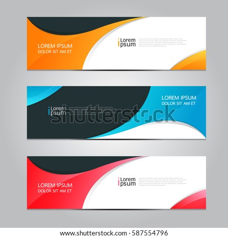 Vector design Banner background. #587554796