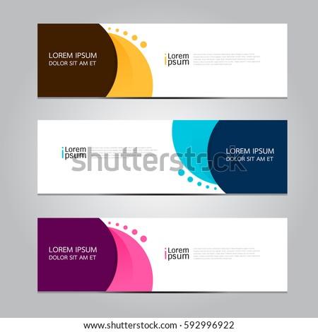Vector design Banner background. #592996922