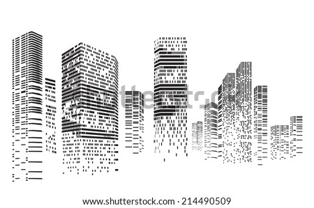 vector design   eps10 building...