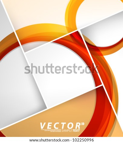 Vector Design - eps10 Circle Shaped Bubble Concept Background