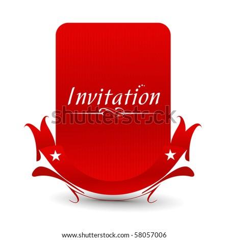 party card design.