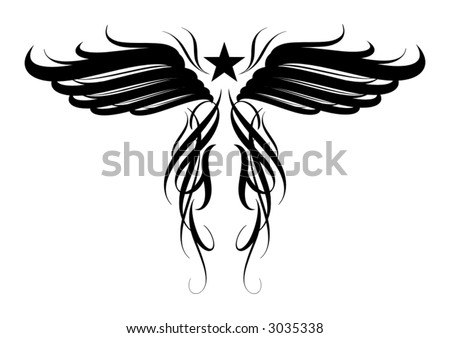 Vector design for tattoo