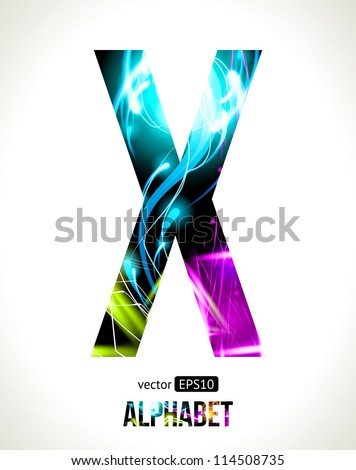 Vector design light effect  X Design