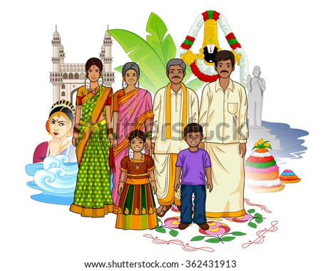 vector design of andhrait
