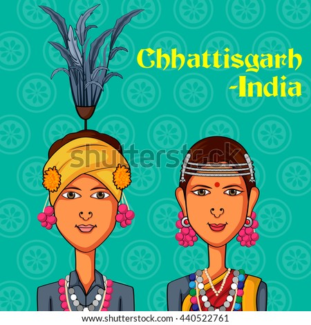 vector design of chhattisgarhi
