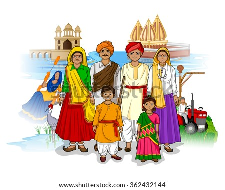 vector design of haryanvi