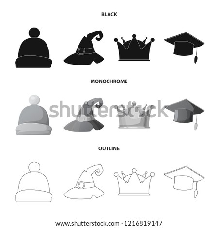 vector design of headgear and