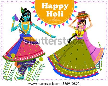 vector design of indian god