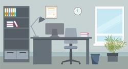 Vector design of office environment