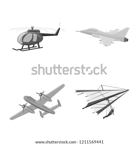vector design of plane and