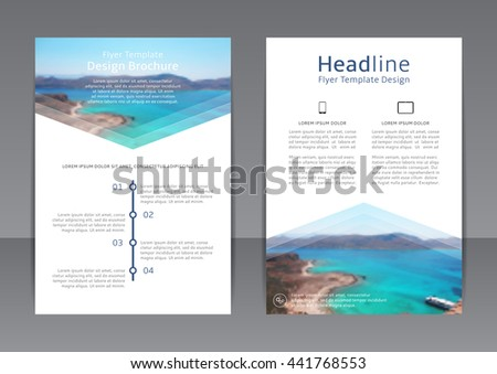 Flyer Brochure Design In A4 Size For Your Business Download Free