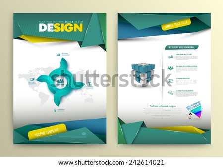 vector design page template