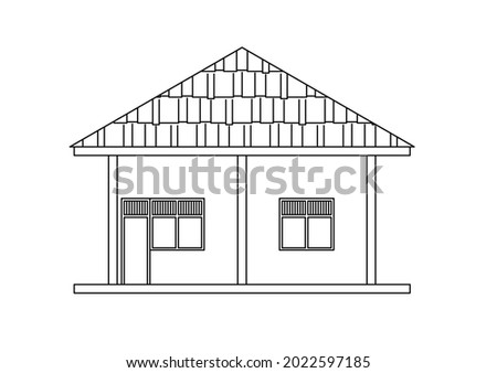 vector design sketch of the