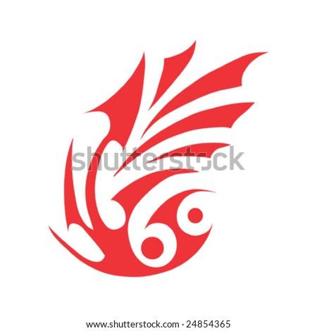 skyline. stylized. symbol. tattoo