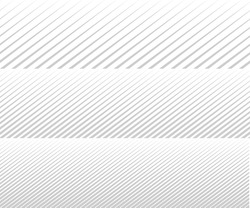 Vector diagonal lines. Gradient. Background for brochure. Grey unusual texture. Line rhythm.
