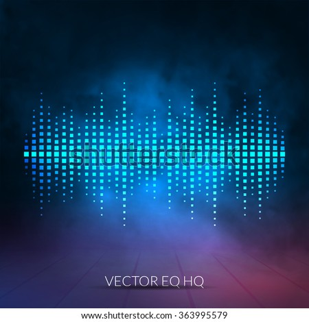 vector digital equalizer with
