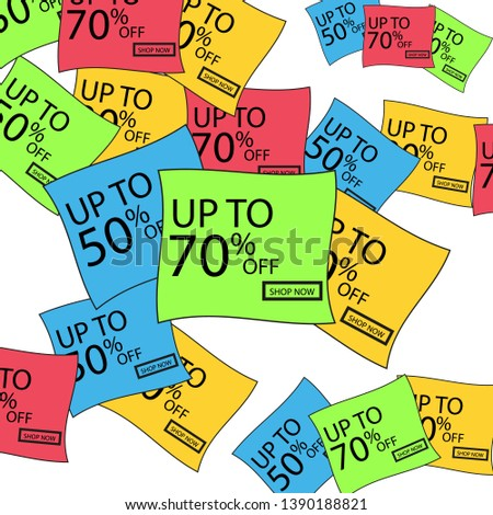 Vector discount stickers. Collection stickers, price tags. Sale, free, new