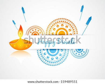 vector diwali greeting design art